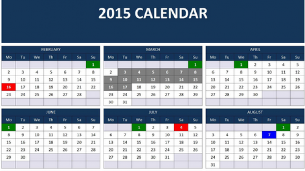 Download our New gallery of calendar zile lucratoare HD Wallpapers ...