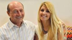 Traian Basescu si Cristina Beatrice