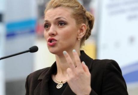 Alina Gorghiu, prinsă cu rața-n gură