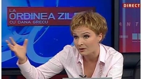 DANA GRECU, replici tăioase. Politician făcut PRAF de jurnalistă