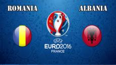 Euro 2016: Romania - Albania