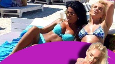 Maria Constantin şi Anda Ghiţă au încins masculii de pe plajă. S-au dezbrăcat şi au împărţit acelaşi pat