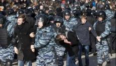 Rusia manifestatie