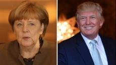 Trump si Merkel
