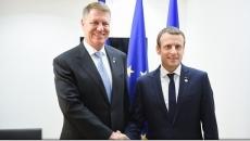 Iohannis - Macron