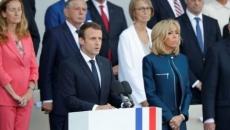 Macron si Trump