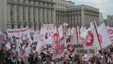 Sanitas protest