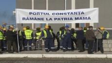 proteste portul constanta