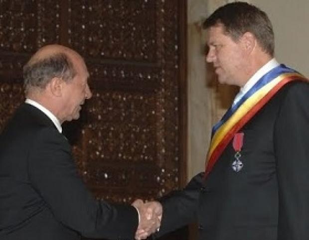 Klaus Iohannis şi Traian Băsescu nu se mai ascund. Rendez-vous în miezul  zilei la reşedinţa preşedintelui   Obiectiv.info