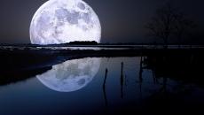 luna.imensă