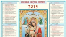 calendar orodox 2015