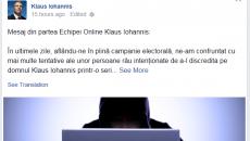 iohannis facebook