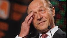 Traian Băsescu plange