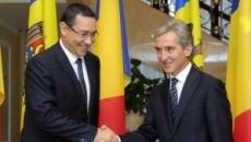 Victor Ponta si Iurie Leanca