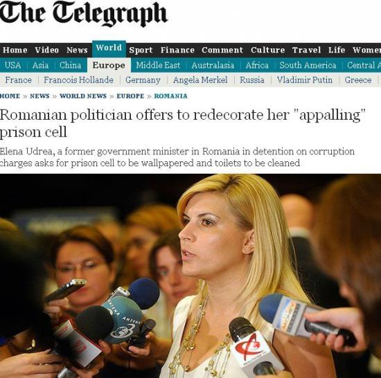 Elena Udrea The Telegraph