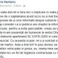 sora lui Victor Ponta, mesaj pe Facebook