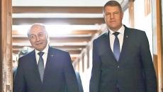 Klaus Iohannis şi Traian Basescu