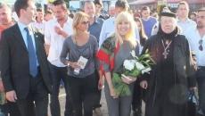 Elena Udrea in campania electorala