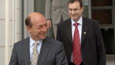 Traian Basescu si Florian Coldea