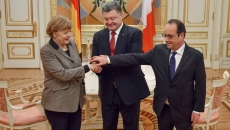 Merkel-Hollande-Porosenko