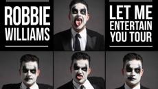 Robbie Williams, în România