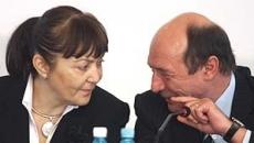 Traian Basescu si Monica Macovei