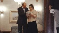 Traian Basescu si Adriana Saftoiu