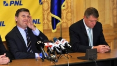 Crin Antonescu si Klaus Iohannis