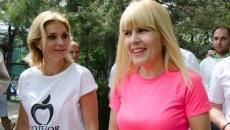 Elena Udrea si Ruxandra Dragomir
