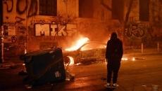 Proteste violente la Atena