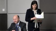 Traian Băsescu şi Laura Codruţa Lovesi