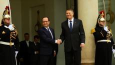 Klaus Iohannis şi Francois Hollande