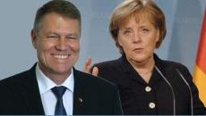 Iohannis şi Merkel
