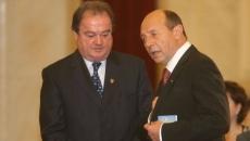 Traian Basescu si Vasile Blaga