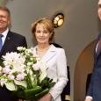 Klaus Iohannis şi Principesa Margareta