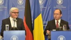 Frank-Walter Steinmeier şi Bogdan Aurescu