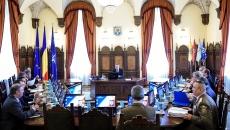 Prima sedinta a CSAT condusă de Klaus Iohannis