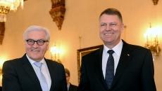 Klaus Iohannis şi ministrul german de Externe