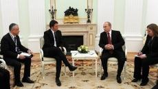 Vladimir Putin şi Matteo Renzi