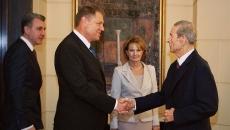 Klaus Iohannis si Regele Mihai
