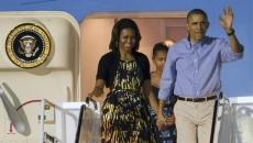 Barack şi Michelle Obama, în Hawaii