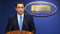 Victor Ponta la Palatul Victoria