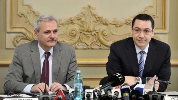 Liviu Dragnea şi Victor Ponta
