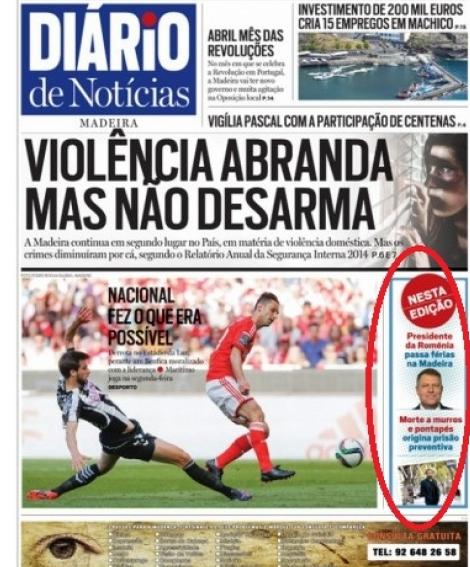 ziar portughez