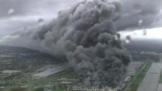 Incendiu de proporţii la un depozit al companiei General Electric