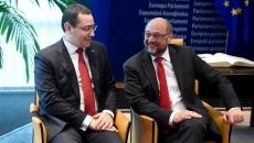 Victor Ponta şi Martin Schulz