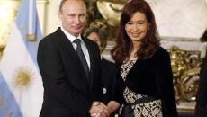 Cristina Kirchner si putin