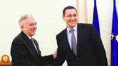 Victor Ponta şi Mugur Isărescu