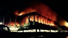 Incendiu pe aeroportul Fiumicino