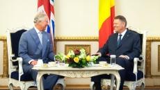 Klaus Iohannis și Prințul Charles